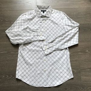Banana Republic Fitted sz M 15 - 15 1/2
